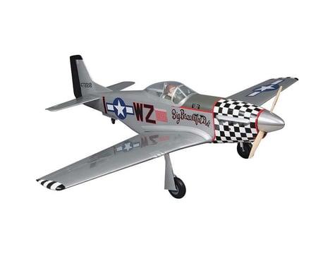 "1/5 Giant P-51D Mustang GP ARF 2.1-2.8, 84.5"""