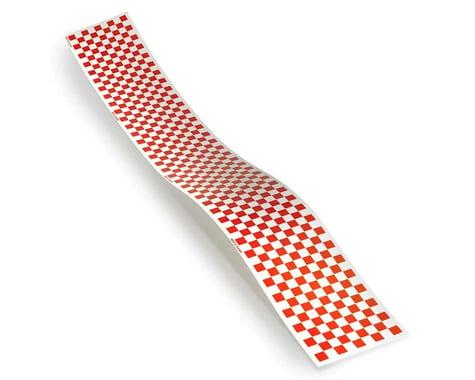 Top Flite Checkered Monokote Trim (Red/Clear)