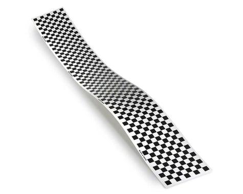 Top Flite Checkered Monokote Trim (Black/White)
