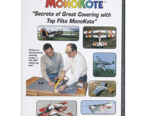Top Flite Flite MonoKote Covering Instructional DVD