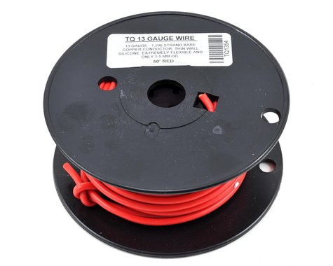 TQ Wire 13awg Silicone Wire (Red) (50')