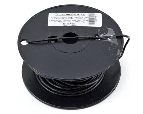 TQ Wire 16awg Silicone Wire (Black) (50')