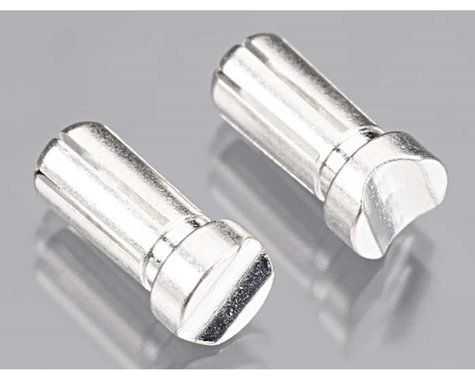 TQ Wire 5mm Copp Clad/Silver Plated Bullet Connector (2) (13mm Long)