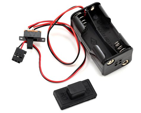 """Traxxas 4-Cell """"AA"""" Battery Holder w/Switch Cover"""