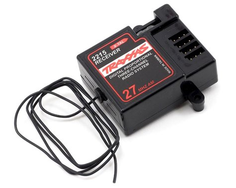 Traxxas 27MHz 3-Channel AM Receiver