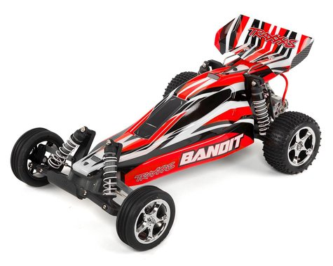 Traxxas Bandit XL-5 1/10 RTR Buggy (Red)