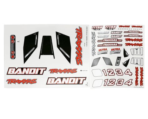 Traxxas Decal Sheet Bandit