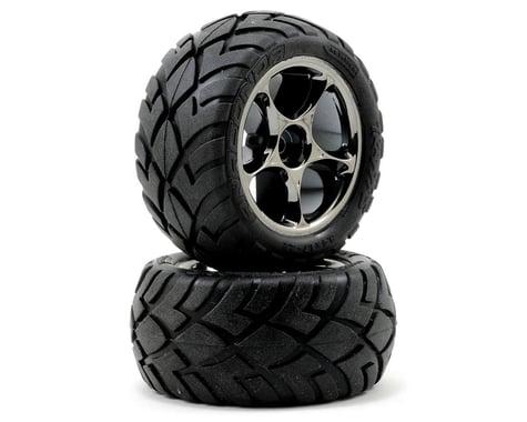 Traxxas Anaconda Rear Tires (2) (VXL Bandit) (Black Chrome) (Standard)