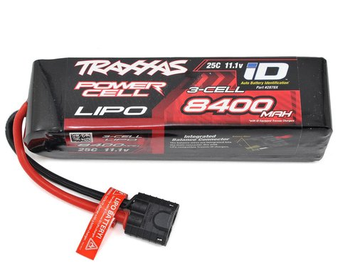 "Traxxas 3S ""Power Cell"" 25C LiPo Battery w/iD Traxxas Connector (11.1V/8400mAh)"
