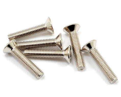 Traxxas 3x15mm Flat Head Machine Screw (6)