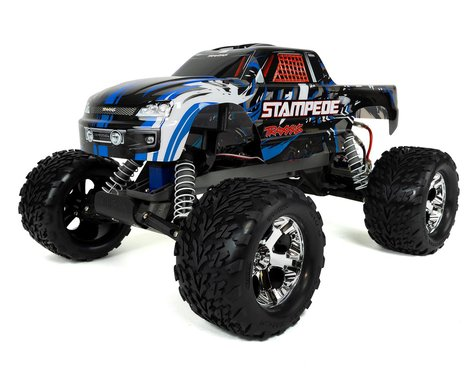 Traxxas Stampede: 1/10 Scale Monster Truck.  Ready-To-Race® With Tqi 2.4Ghz Radio System And Xl-5 Esc (F
