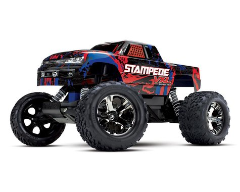 Traxxas Stampede VXL Brushless 1/10 RTR 2WD Monster Truck (Red)
