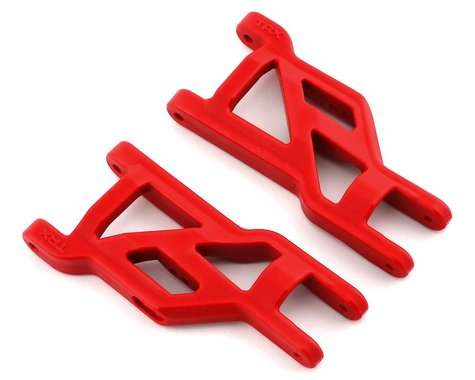Traxxas HD Cold Weather Front Suspension Arm Set (Red)