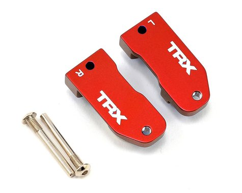 Traxxas Aluminim 30° Caster Blocks (Red) (2)
