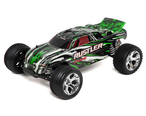 Traxxas Rustler 1/10 RTR Stadium Truck (Green)