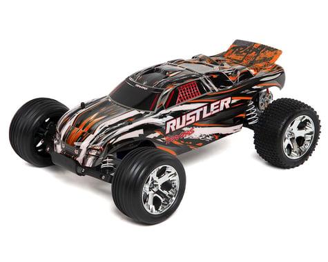 SCRATCH & DENT: Traxxas Rustler 1/10 RTR Stadium Truck (Orange)