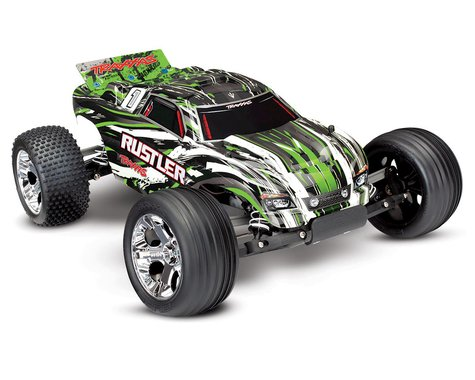 Traxxas Rustler 1/10 RTR 2WD Electric Stadium Truck (Green)