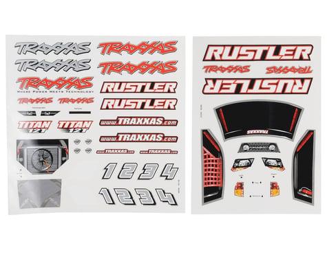 Traxxas Rustler Decal Sheet Set