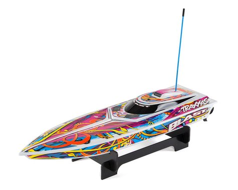 "Traxxas Blast 24"" High Performance RTR Race Boat"