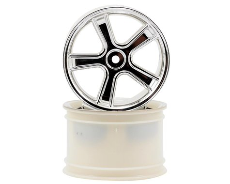 Traxxas Maxx Sport Monster Truck Rims (2) (Chrome)