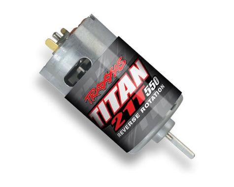 Traxxas TRX4 Titan 550 Reverse Rotation Motor (21T)