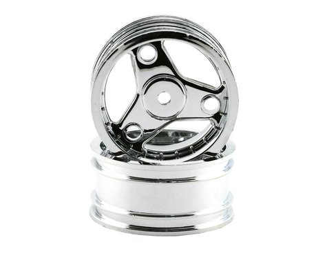 Traxxas Wheels,Chrome:4-Tec