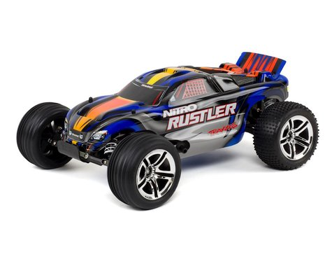 Traxxas Nitro Rustler 1/10 RTR Stadium Truck (Blue)