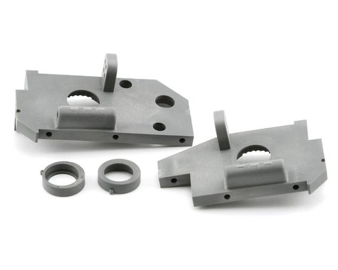 Traxxas Rear Side Plate (Grey) (2) (Nitro 4-Tec 3.3)