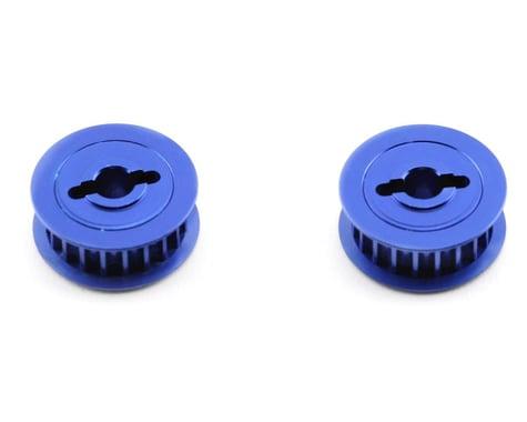 Traxxas Pulleys, 20 Groove, Blue Aluminum (Nitro 4-Tec)