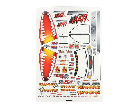 Traxxas T-Maxx Jaws Decal Sheet (TMX .15, 2.5,3.3)