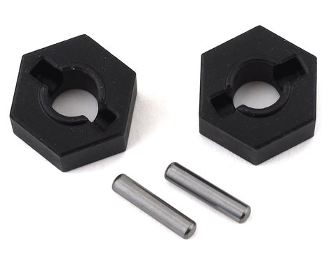 Traxxas Steel 14mm Hex Wheel Hubs w/2.5x12mm Axle Pins (2)
