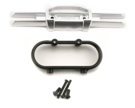 Traxxas Revo Bumper, rear/ Bumper mount, rear/ 4x10mm BCS (2)/ 3x25mm BCS (2)