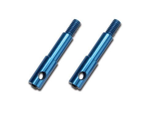 Traxxas Front Aluminum Wheel Spindles, Left & Right (Jato)