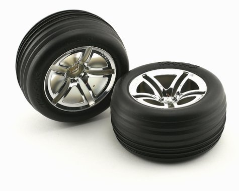 Traxxas Pre-Mounted Front Tires (2)