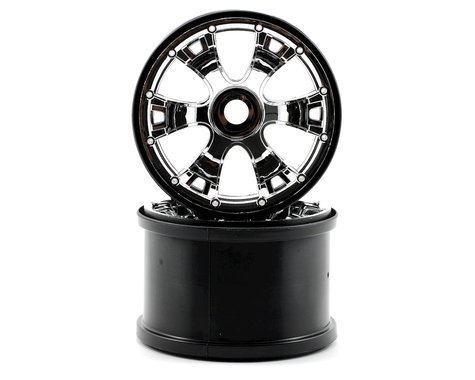 Traxxas 3.8 Geode Wheels (2) (Summit) (Chrome)