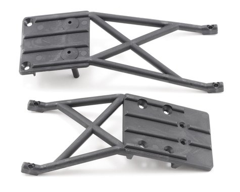 Traxxas Front & Rear Skidplate Set (Black)