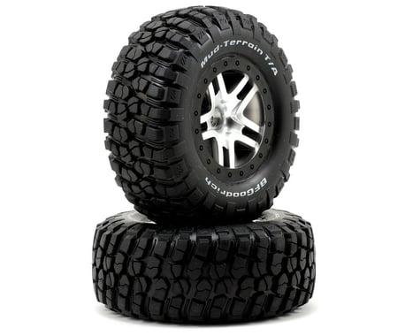 Traxxas BFGoodrich Mud TA Front Tire (2) (Satin Chrome) (Standard)
