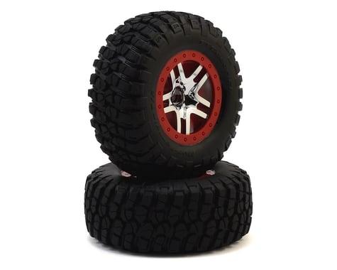Traxxas BFGoodrich Mud TA Front Tires (2) (Satin Chrome) (Standard)