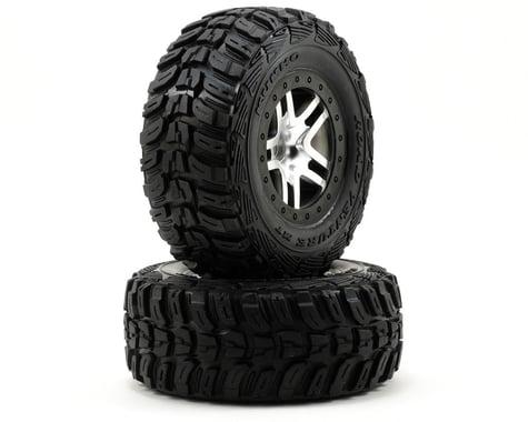Traxxas Kumho Venture MT Front Tires (2) (Satin Chrome) (Standard)