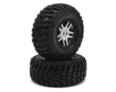 Traxxas Kumho Venture MT Tire w/Split-Spoke Wheel (2) (Satin Chrome) (S1)