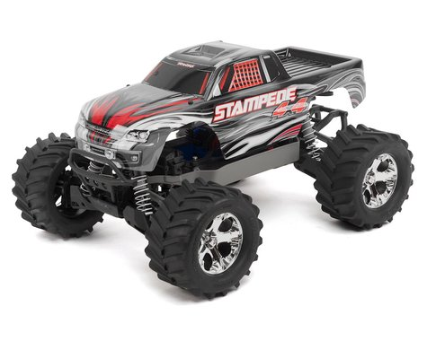 Traxxas Stampede 4X4 LCG 1/10 RTR Monster Truck (Silver)