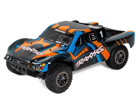 "Traxxas Slash 4X4 ""Ultimate"" RTR 4WD Short Course Truck (Orange)"
