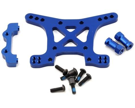 Traxxas Aluminum Front Shock Tower (Blue)