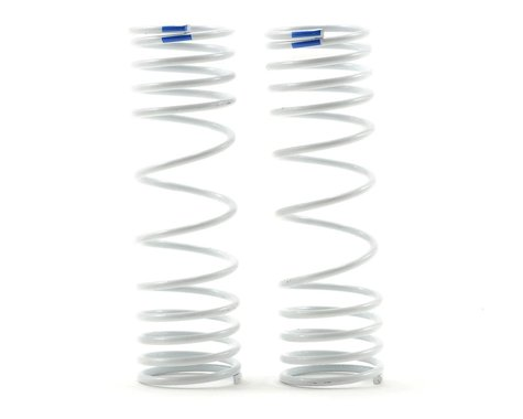 Traxxas Progressive Rate Rear Shock Springs (Blue) (2)