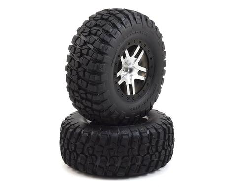 Traxxas BFGoodrich Mud TA Rear Tires (2) (Satin Chrome) (Standard)