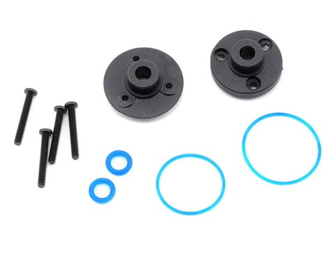 Traxxas Front/Rear Differential Cover Plate w/Gaskets & O-Rings (2)