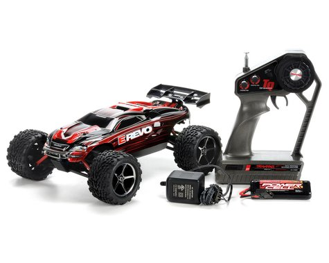 Traxxas 1/16 E-Revo 4WD Titan 550 Brushed RTR Truck (w/Battery & Wall Charger)