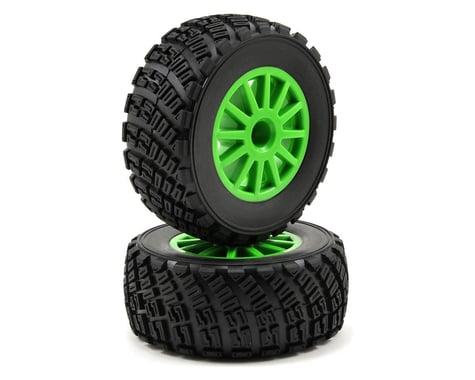 Traxxas BFGoodrich Rally Tire w/Rally Wheel (2) (Green) (Standard)