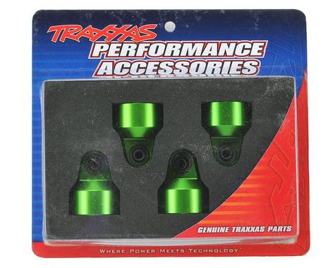 Traxxas X-Maxx Aluminum GTX Shock Caps (Green) (4)