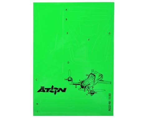 Traxxas Aton High Visibility Decals (Green)